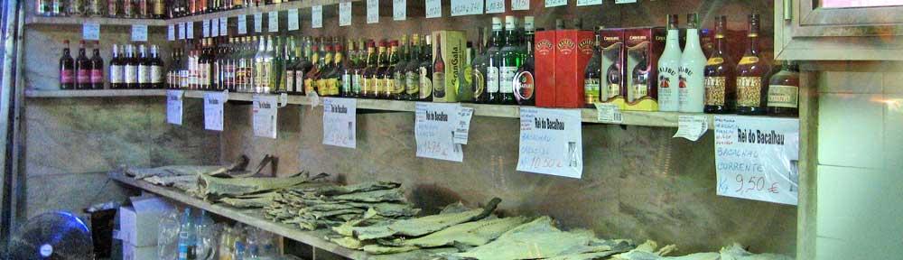 lissabon - schnaps und fisch © 2007