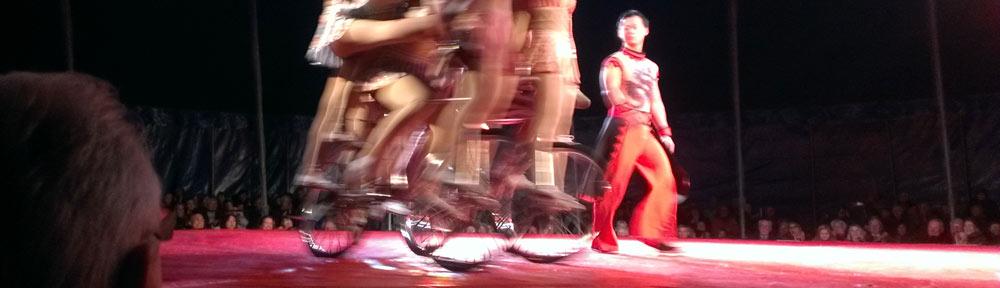 Chinesischer Staatszirkus auf Gastspiel in Eschweiler
